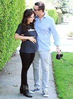 Tammin Sursok enceinte