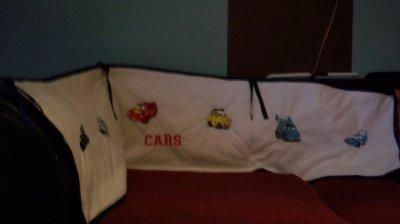 tour de lit bébé cars tour de lit   Blog de 1 2 3 broderie tour de lit bébé cars