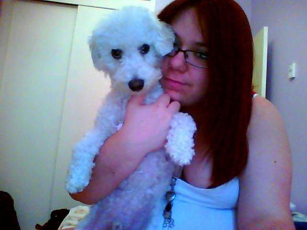 Ma famille: Mon chien!!!! <3