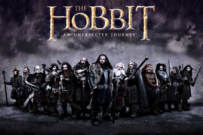 Bon week end avec le hobbit