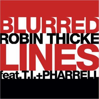 Blurred Lines de Robin Thicke Feat. T.i & Pharrel  sur Skyrock