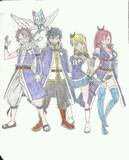 Dessin de fairy tail