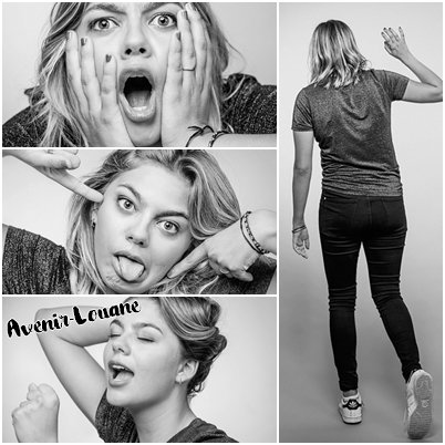 Photoshoot de Louane Emera 2015