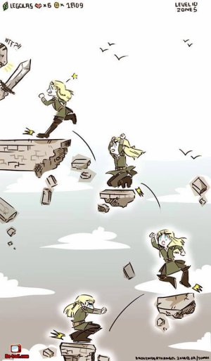 La gravité selon Legolas X,D