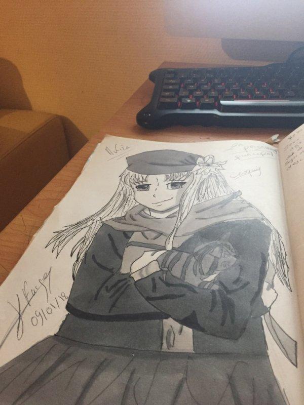 2ème Personnage Principale (en quête d'un futur Manga)