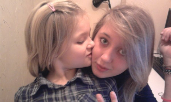 Ma soeur et ma couzine ! :)
