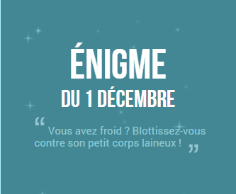 Calendrier de l'avent 2014 ! #1 (SPOIL SOLUTION)