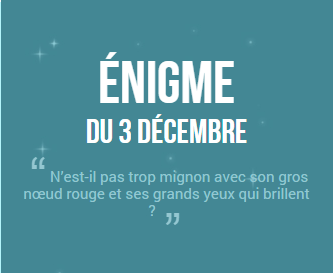 Calendrier de l'avent 2014 ! #3 (SPOIL SOLUTION)