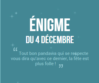 Calendrier de l'avent 2014 ! #4 (SPOIL SOLUTION)