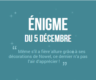 Calendrier de l'avent 2014 ! #5 (SPOIL SOLUTION)