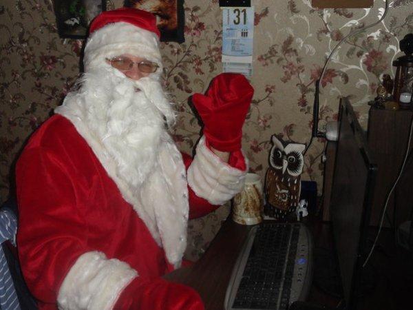 Ded Moroz? C'est moi!