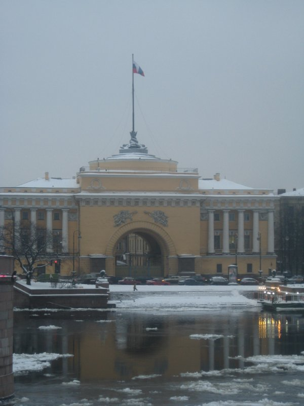 La neige et la pluie - voila l'hiver russe