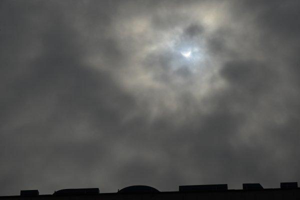 L'eclipse du soleil