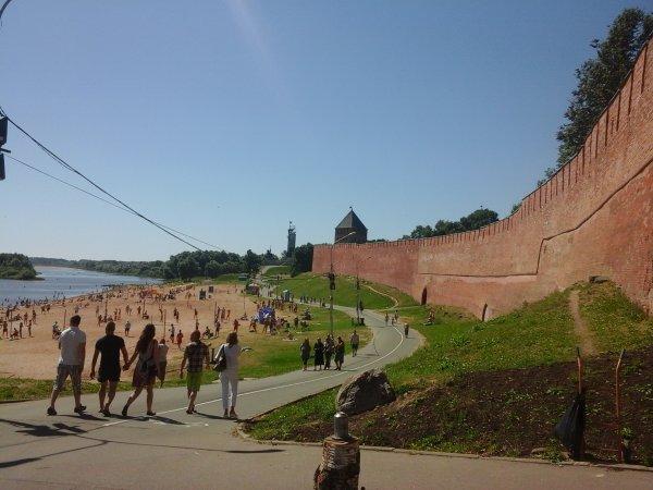 Novgorod Veliky. Le post # 1