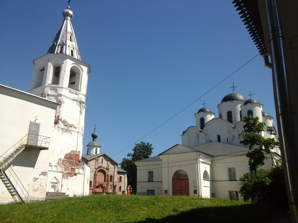 Novgorod Veliky. Le post № 3