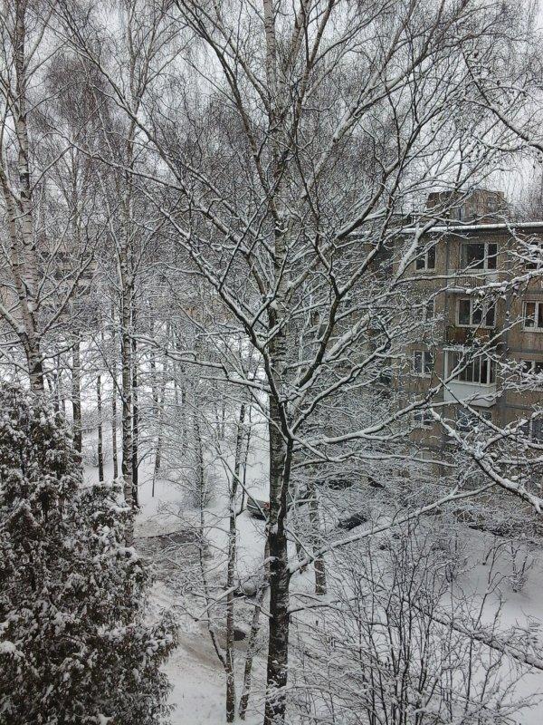 L'hiver est de retour!