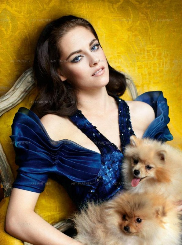 Photoshoot de Kristen pour Vanity Fair