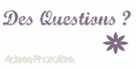 Aidees-Photofiltre ~ Question ?
