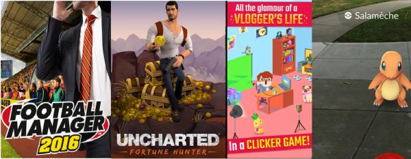 Gamers : il y a au moins 5 jeux mobile qui cartonnent en ce moment
