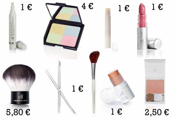 Mes cadeaux de Noel ; Parti 1 : Make up