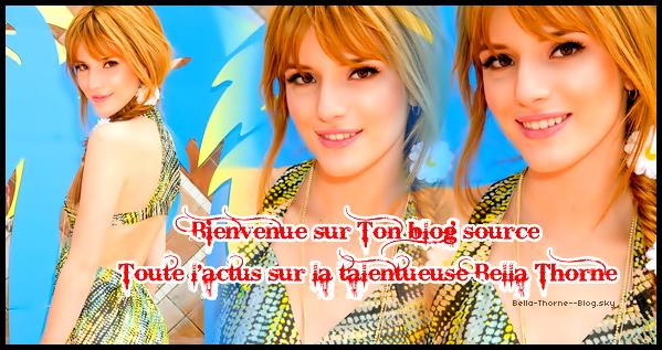 ♥Agenda de Bella Thorne ♥