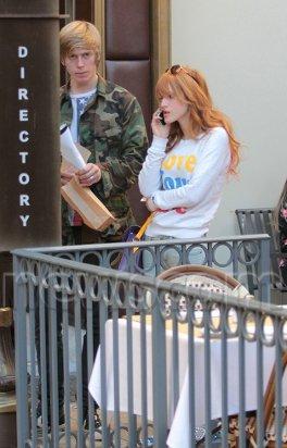 ♥ Bella & Tristan à Los Angeles  le:20/12/12♥