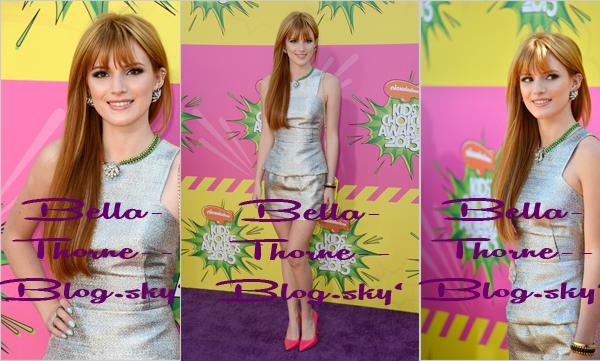 Bella Thorne aux KCA'S 2013 le 23 Mars 2013.