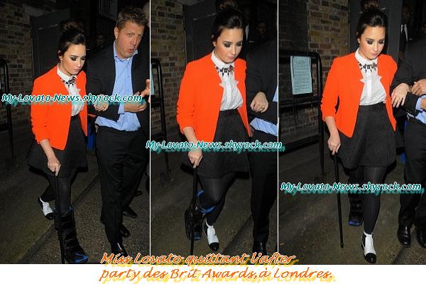 After party Brit Awards,21 février