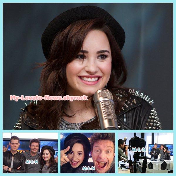 le 26 février, Demetria a donnée une interview « On Air With Ryan Seacrest » à la radio KISS FM