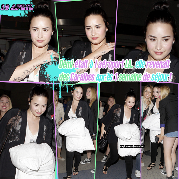 Article : Aéroport,photoshoot,interview,twitter pictures and news..