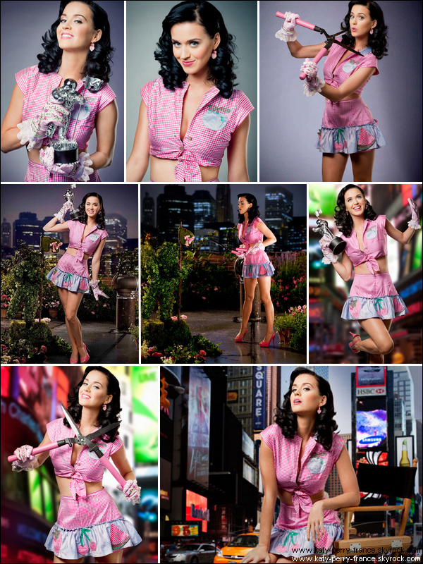 . Photoshoot de Katy  pour les MTV Video Music Awards ! .