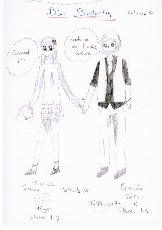 Histoire n°1: Sakura et Tetsu