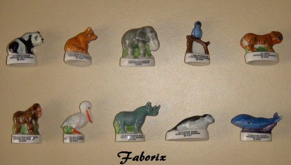 WWF Sauvons les animaux (Carrefour) -2001