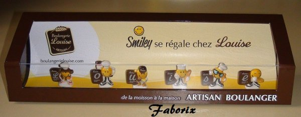 Smiley se régale chez LOUISE -2017
