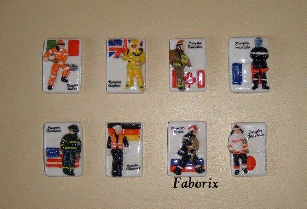 Les pompiers du monde -2010 Faboland