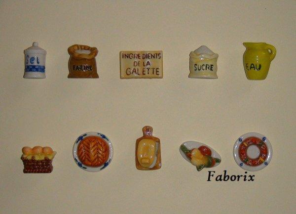 Les ingrédients de la galette 2010 Arguydal