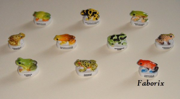 Les grenouilles de collection 2011 Arguydal