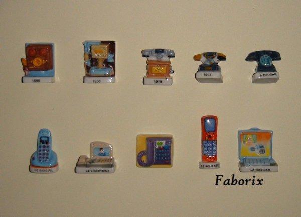 L'évolution du téléphone 2010 Nordia
