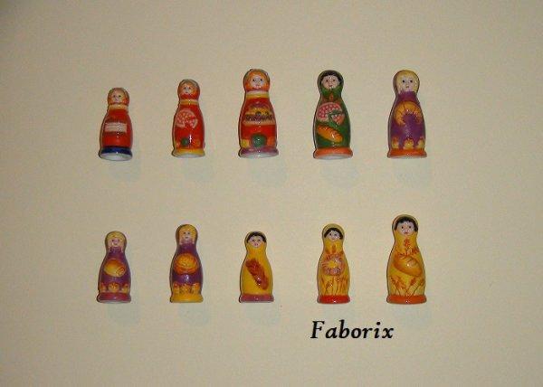 Les poupées russes 2010 Nordia