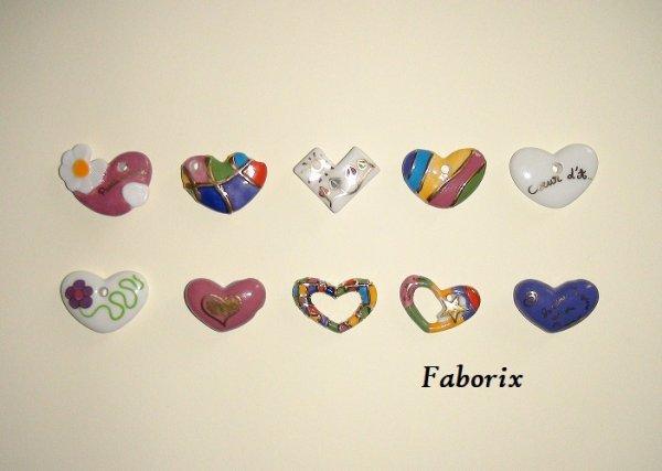 Les coeurs en pendentifs 2006 Epi Folie