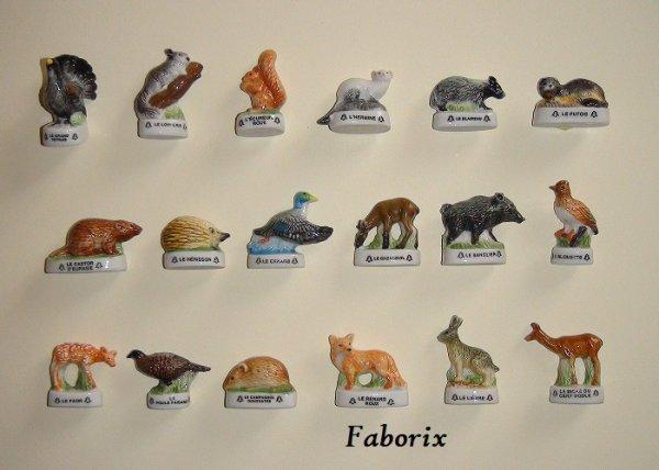 Les animaux de nos forêts 2006 Editions Atlas