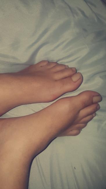 les pieds de nadia