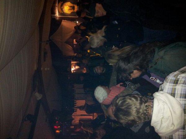 Feu de paques  chez les Amun MC a cote de Hamburg