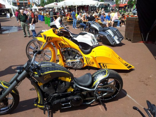 Harley Days a Hamburg 2014