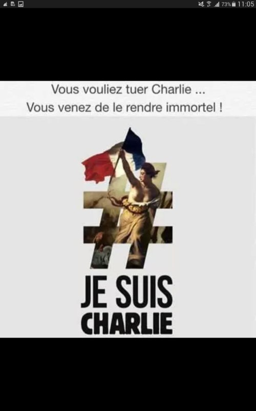 Je suis CHARLIE....