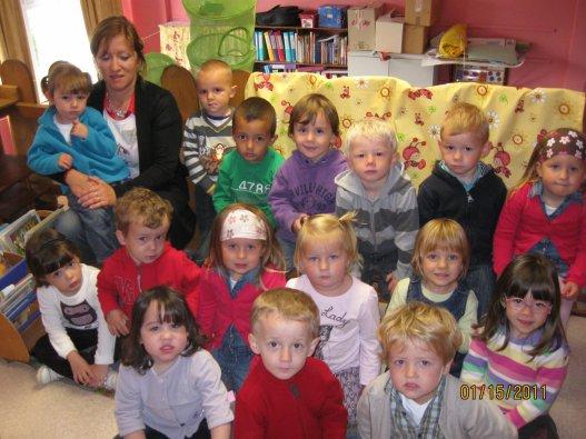 Classe de 1ère maternelle - 2011-2012