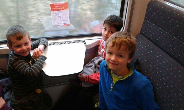 Deuxième train..direction La Panne