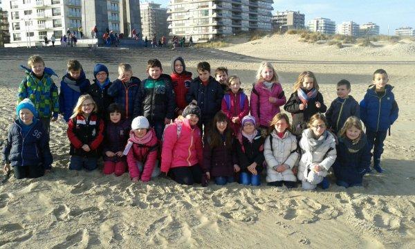 A peine 9 heures et nous profitons déjà de la plage,sous un beau soleil!