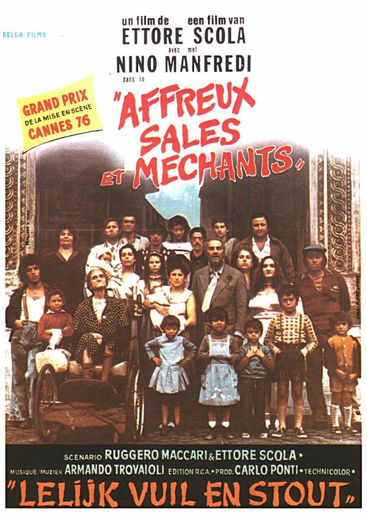 Affreux, sales et méchants (1976)