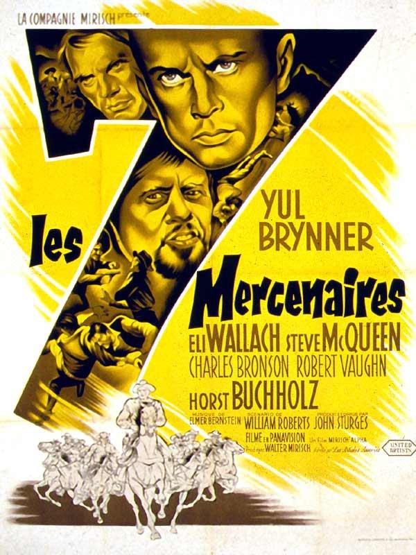 Les Sept Mercenaires (1960)